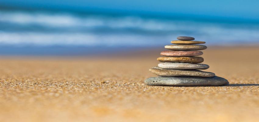 zen stones slider